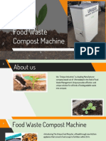 Catalog-Food Waste Compost Machine