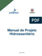 Manual de Projeto Hidrossanitario Marco-2019