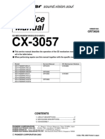 Cx-3057 Mecanica CD Deh-p4500mp
