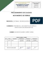 COA-CAP18045-1803153-PR-043 Procedimiento de Calidad Movimiento de Tierras