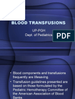 Blood Transfusions- LU6