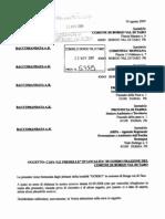 Lettera alle autorità 20 nov 2009