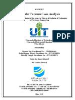 Annular Pressure Loss Analysis