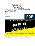 SAPUI5 Tutorial with WebIDE.docx