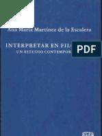 03. Ana María Martínez - Interpretar en Filosofía - LitArt