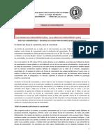 Las Formas de Conocimiento Documentos Tdc