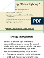 Energy Efficient Lamp