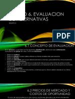 Evaluaciónes alternativas