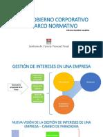 Buen Gobierno Corporativo y Marco Normativo Peruano Por Cecilia Madrid Valerio