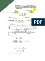 combined footing design sheet