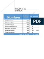 PlantillaPlanillaSueldos