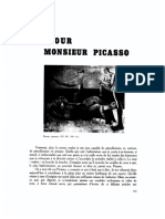 Documents - Hommage a Picasso