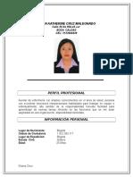 Diana Katherine Cruz Maldonado