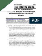 Amnistia Internacional Pena de Muerte