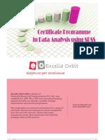 Certificate in DA SPSS