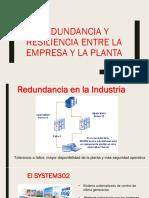 Redundancia y Resiliencia Entre La Empresa y La Planta