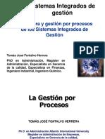 Gestion por procesos y los sistemas integrados de gestion