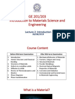 L02 Introduction to Materials Science and Engineering