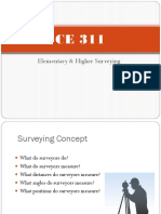 1 Surveying Concepts
