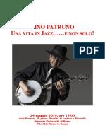 LOCANDINA_ILino Patruno 24 Maggio 2019