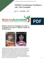 MARCOS ALEXANDRE Constelações Familiares _ Equilíbrio Essencial _ Tarô Completo