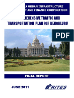 Comprehensive Traffic and Transportation Plan for Bangalore