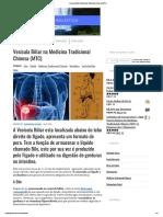 Vesícula Biliar Na Medicina Tradicional Chinesa (MTC)