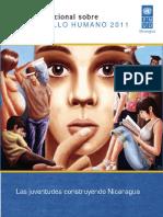 Informe de Desarrollo Humano. Juventud. Nicaragua