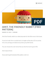 Amit the Friendly Rabbit by Kurumi
