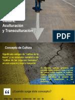 Cultura,Aculturacion, Transculturacion