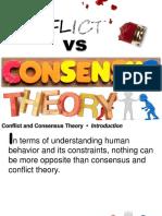 Almera Consensus and Conflict