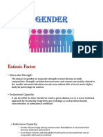 Intrinsic and Extrinsic of Gender