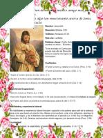 Curriculum de Jesucristo