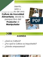Establecimiento Comprensión y Mejoramiento de Una Cultura de Inocuidad