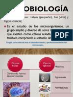 Clase 1 - Historia de La Microbiologia