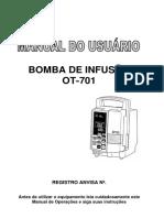Manual Usuário - Bomba de Infusão OT-701.PDF