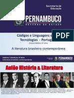 A Literatura Brasileira Contemporânea