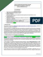 GESTIÓN DE FORMACIÓN PROFESIONAL INTEGRAL PROCEDIMIENTO DESARROLLO CURRICULAR