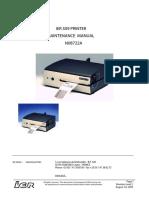 Ier 509 Tahiti Printer Maintenance Manual N08722A