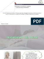 Tratamiento Del Dolor Principios Generales. Analgésicos Opioides Efectos Secundarios
