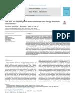Howdoesbio-inspiredgradedhoneycombfilleraffectenergyabsorption characteristics