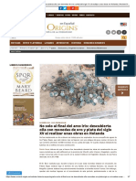 No Solo Al Final Del Arco Iris_ Descubierta Olla Con Monedas de Oro y Plata Del Siglo XV