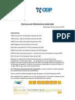 Protocolo de Ausentismo Del CEIP
