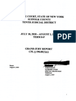 Suffolk County 10th Judicial District Grand Jury Report