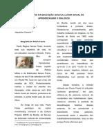 Revista Pedagógica - Paulo Freire