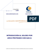 Introducción Al Soldeo Por Arco Protegido Con Gas (I)