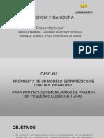 Propuesta de Un Modelo Estratégico de Control Financiero Para Proyectos Inmobiliarios de Vivienda en Pequeñas Constructoras