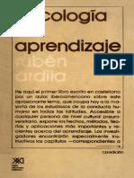 Psicologia del Aprendizaje - Ruben Ardila.pdf