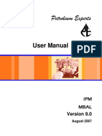 MBAL 9 User Manual Aug 2007
