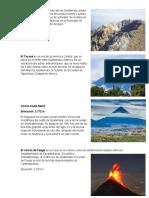 10 Volcanes de Guatemala